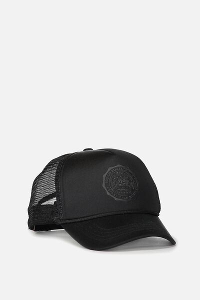 Wicked Print Trucker, BLACK/BOSTON
