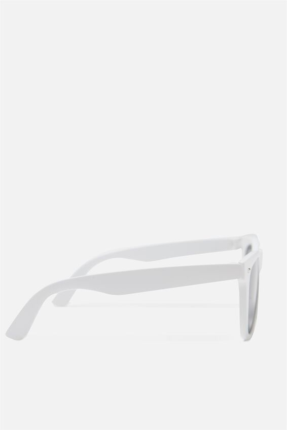 Ferris Sunglasses, MATTE WHITE/SMK BLACK