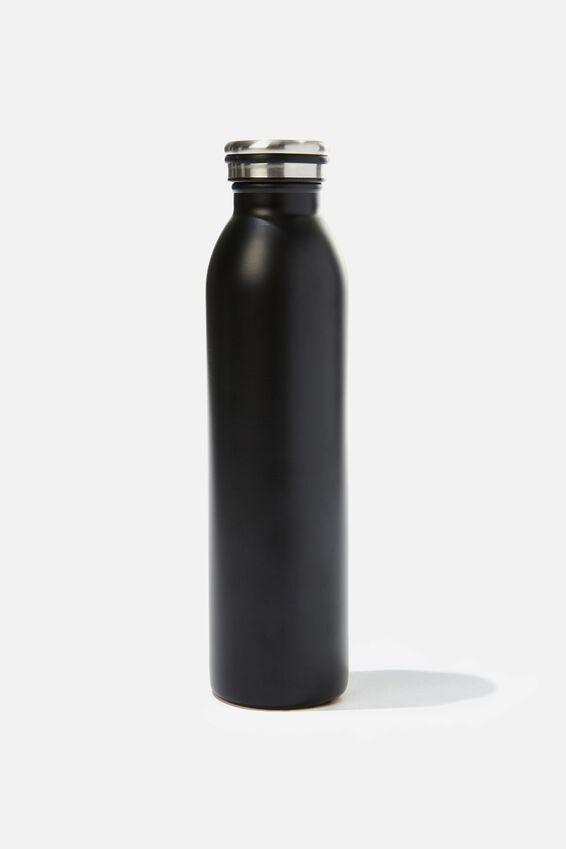 Transit Metal Drink Bottle, BLACK