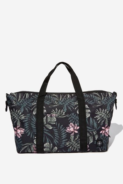 Transit Duffle Bag, LOTUS LEAVES