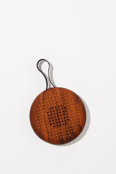 Bluetooth Waterproof Speaker, DARK WOODGRAIN