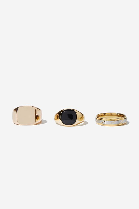 Rings 3 Pack, GOLD 1