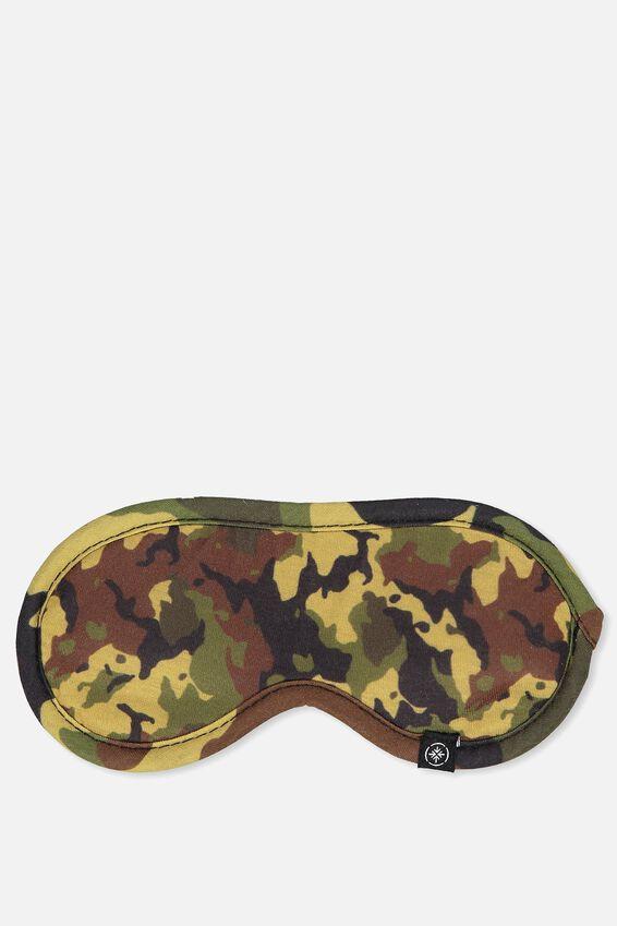 Eye Mask, WOODLAND CAMO CLASH