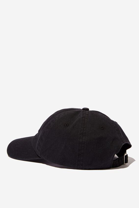 Strap Back Dad Hat, LCN BRA BLACK/BLACK SABBATH