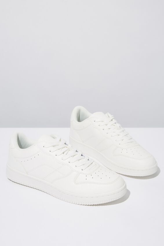 Hayward Clean Sneaker, WHITE/WHITE