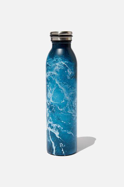 Transit Metal Drink Bottle, WILD WATER