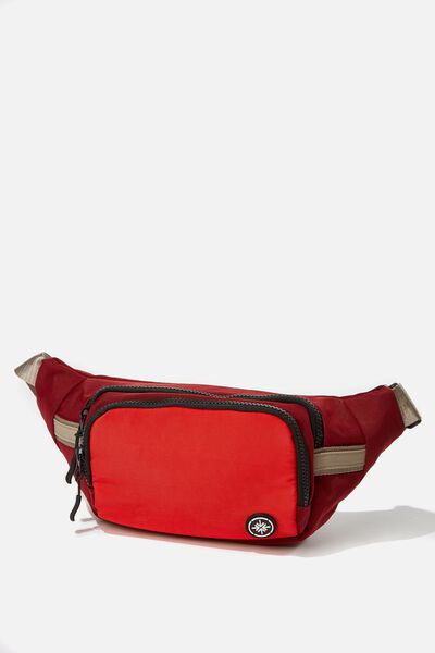 Escape Bumbag, TULIP RED/TRACK RED