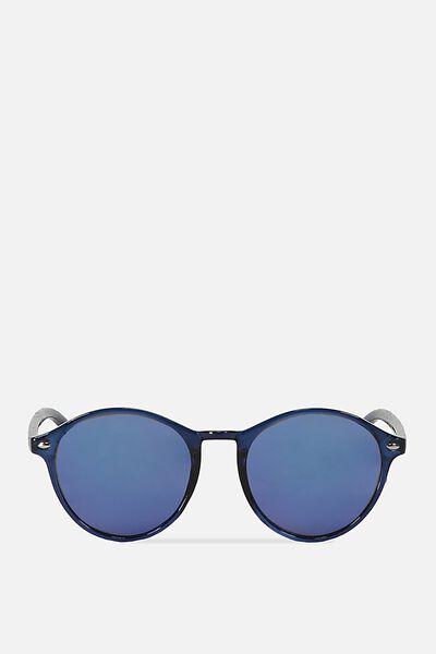Tuscany Sunnies, CRYSTAL CLASSIC/SMOKE BLUE