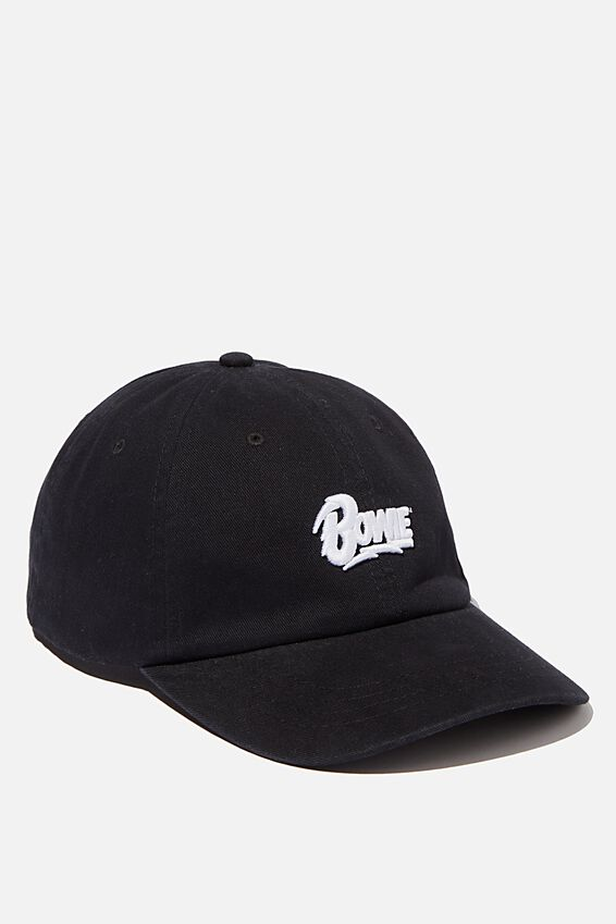 Special Edition Dad Hat, LCN PER BLACK/WHITE/BOWIE