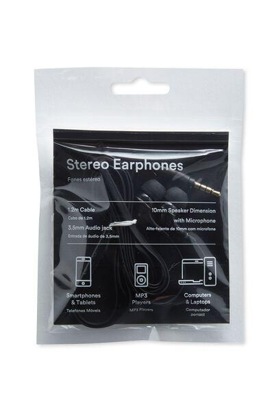 Breakbeat Earbuds, BLACK