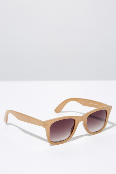 Kennedy Sunglasses, SAND/BROWN GRADIENT