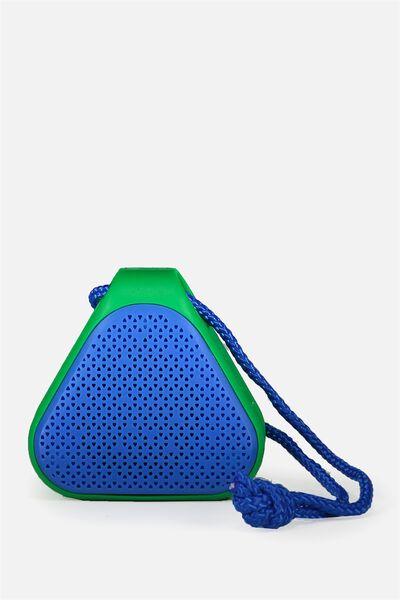 Beach Wireless Speaker, GREEN/BLUE