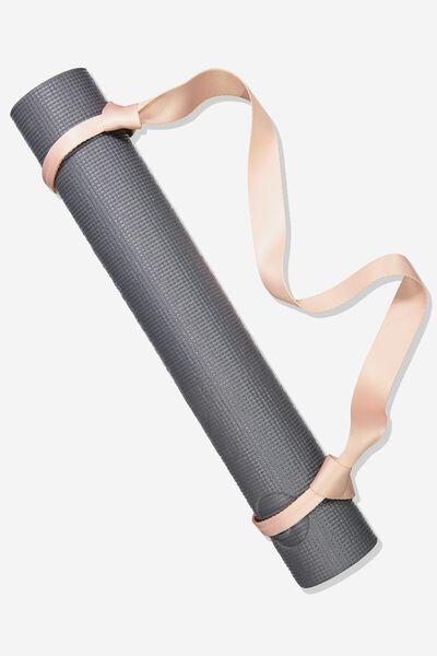 Yoga Mat Strap, BLUSH