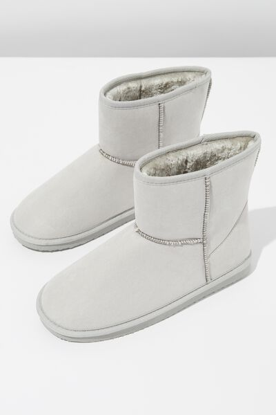 Lounge Boot, GREY MARLE