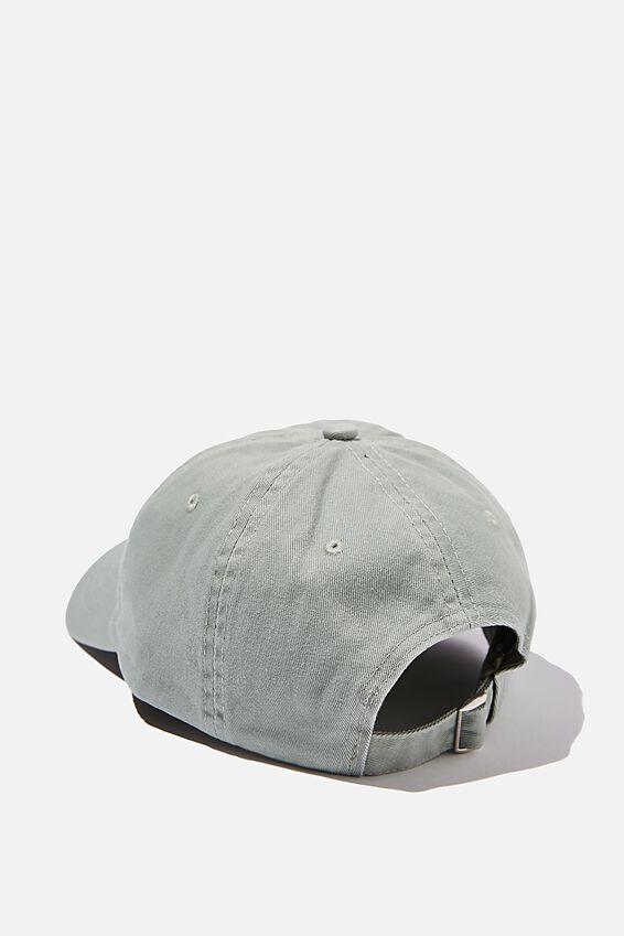 Strap Back Dad Hat, SAGE/GREY/LOS ANGELES