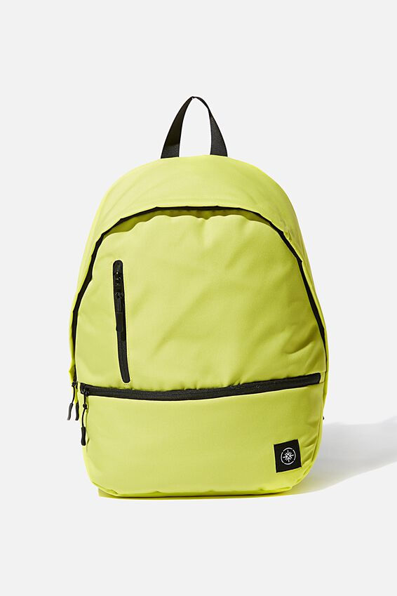 Personalised Transit Backpack, BRIGHT LIME