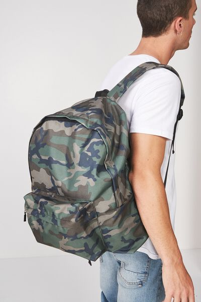 Oversized Backpack, CAMO