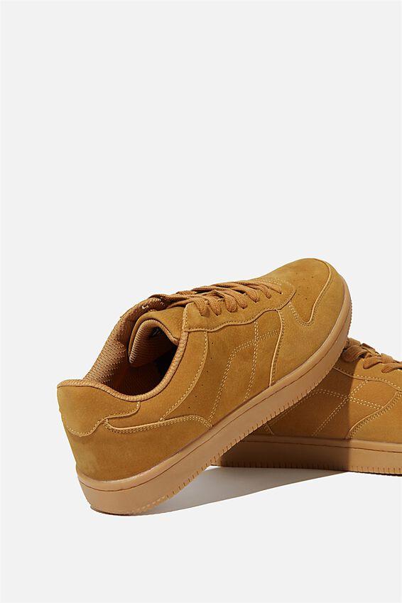 Hayward Clean Sneaker, TAN/GUM