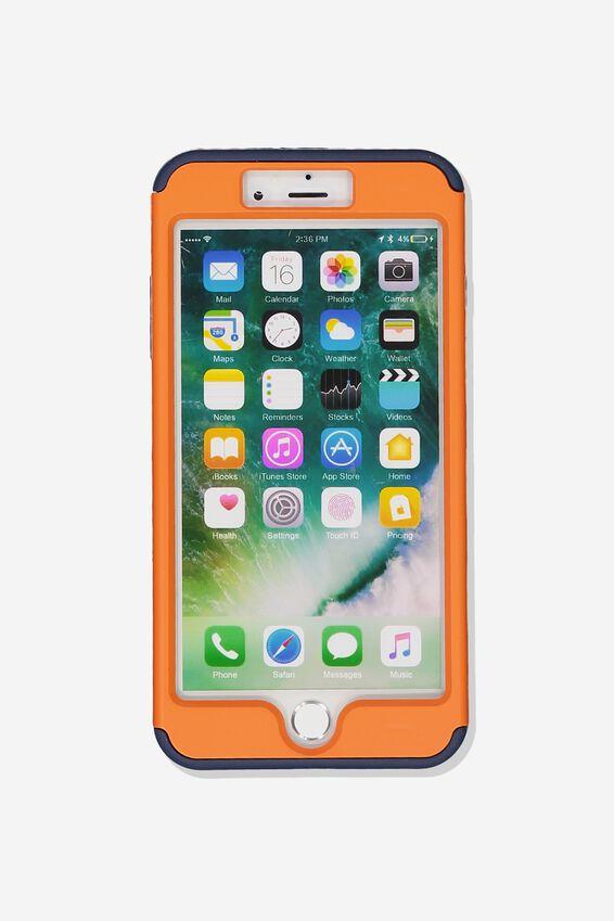 Shockproof Tradie Phone Case Iphone 7/8 Plus, ORANGE
