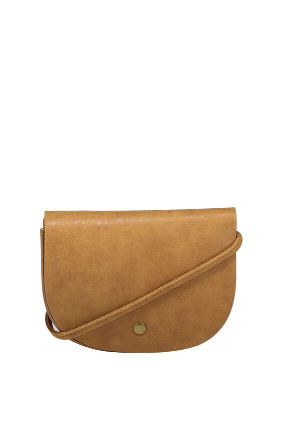 Kaela Cross Body Bag, TAN