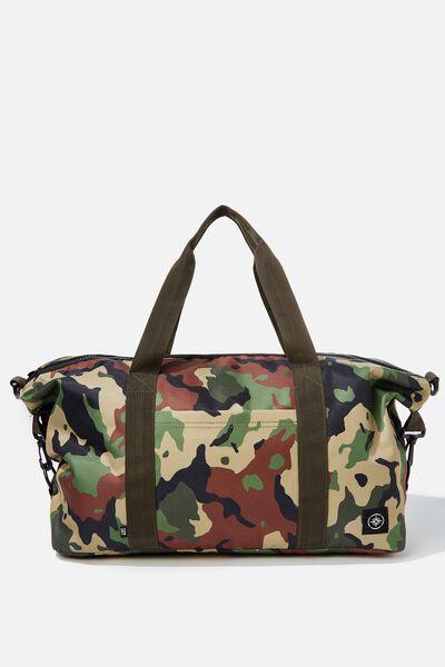 Transit Duffle Bag, WOODLAND CAMO CLASH