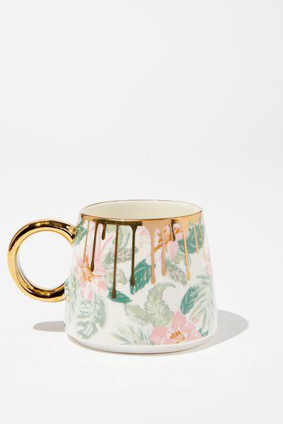 Serene Mug, FADED HAWAIIAN