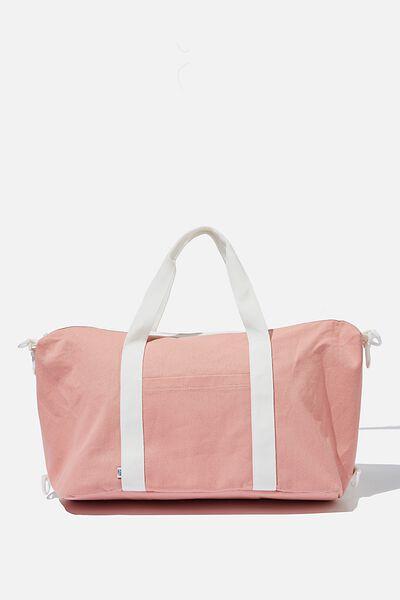Transit Duffle Bag, PINK CANVAS