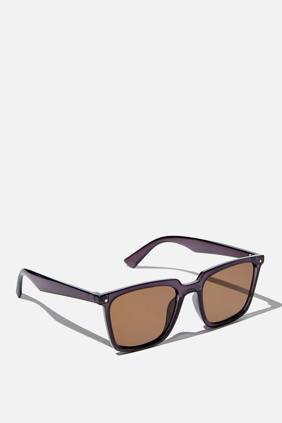 Newtown Sunglasses, CLEAR GREEN/SMOKE
