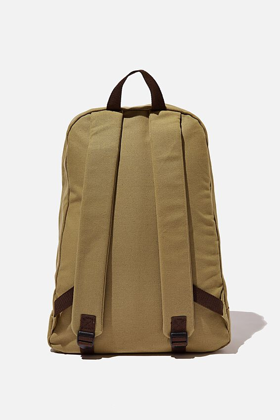 Brunswick Backpack, TAN CANVAS