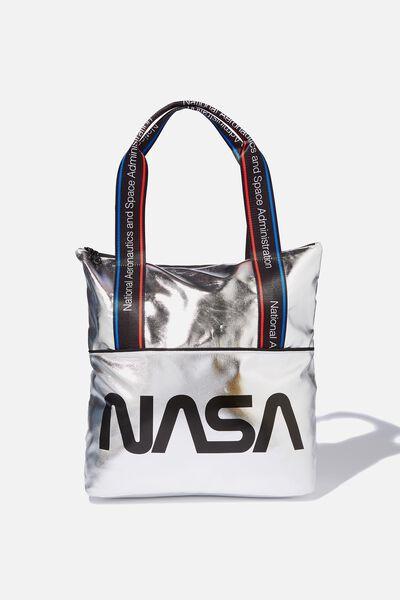 Transit Tote, LCN NASA METALLIC
