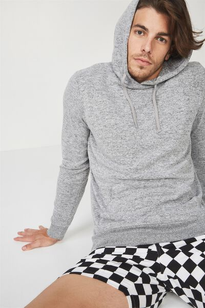 Supersoft Fleece Pullover, GREY MARLE SUPERSOFT