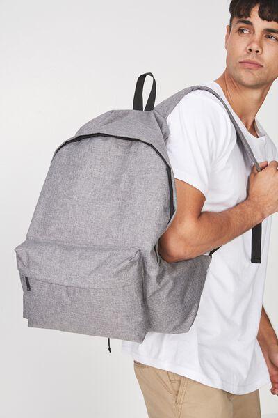 Oversized Backpack, ASH FLECK