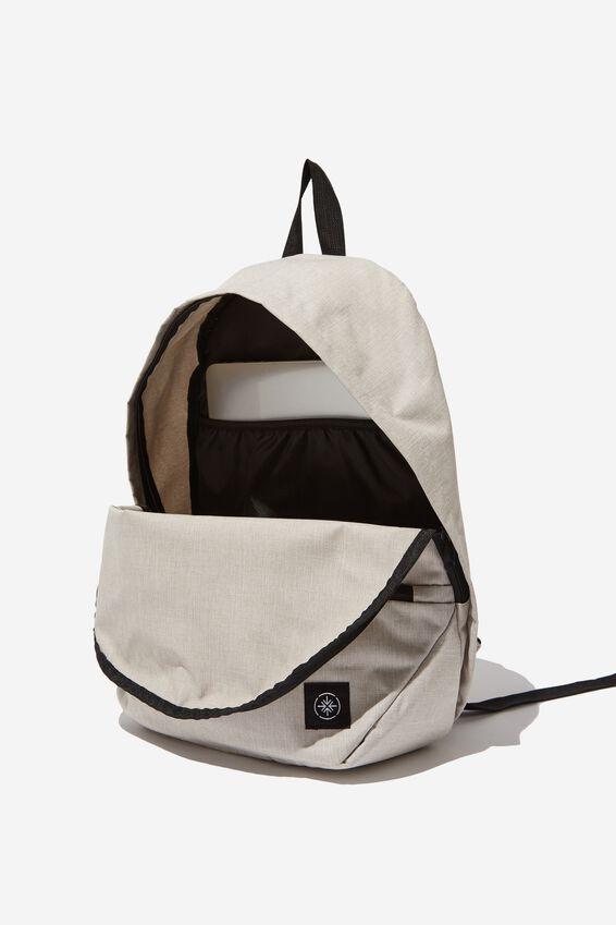Transit Backpack, OATMEAL CROSSHATCH