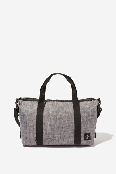 Mini Me Transit Duffle Bag, GREY CROSSHATCH