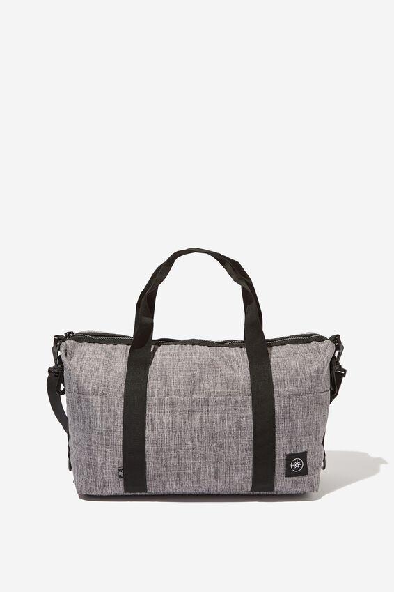 Mini Me Transit Duffle Bag, GREY CROSSHATCH