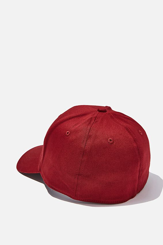 Outfield Fitted Cap, MAROON/SAND/LA