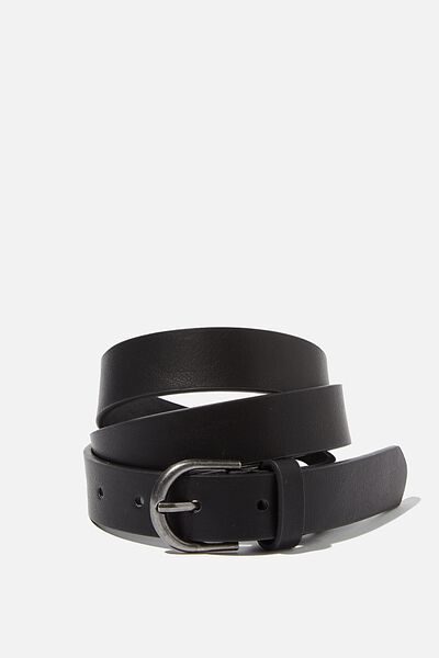 Slimline Belt, BLACK