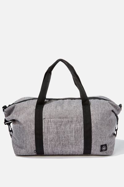 Transit Duffle Bag, GREY CROSSHATCH
