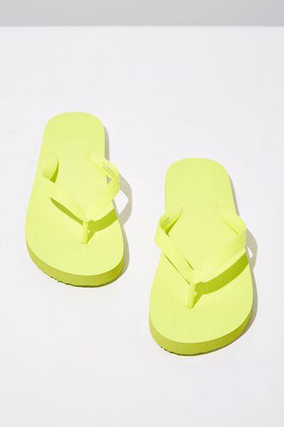 Bondi Flip Flop, NEON LIME