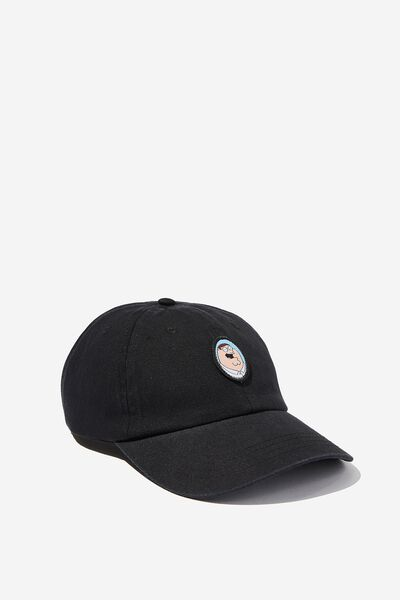 Strap Back Dad Hat, LC FOX BLACK/PETER GRIFFIN