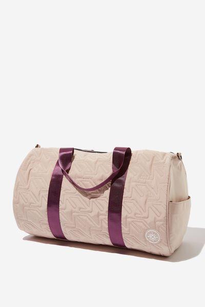 Pedestrian Barrel Bag, BONE