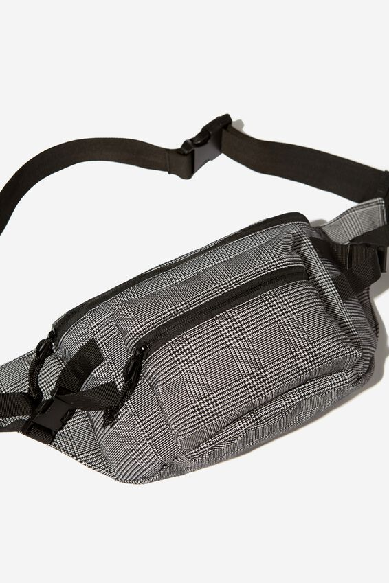 Bumbag, GREY CHECK