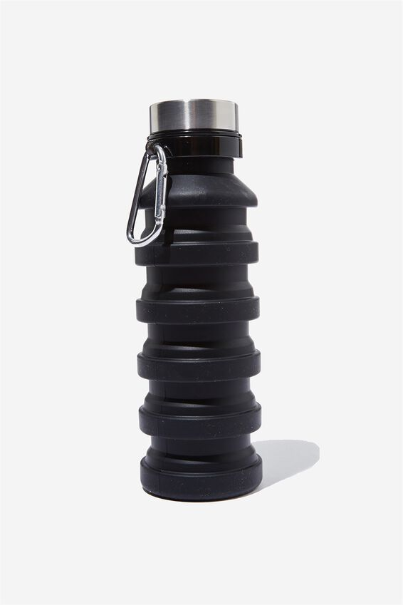 Collapsible Drink Bottle, BLACK