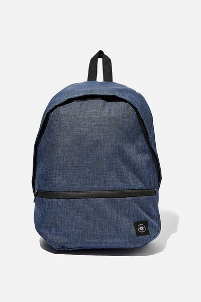 Transit Backpack, NAVY CROSSHATCH