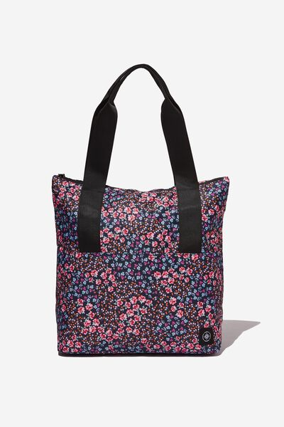 Transit Tote, SPLICED FLORAL