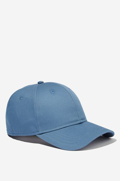 Outfield Fitted Cap, STEEL BLUE