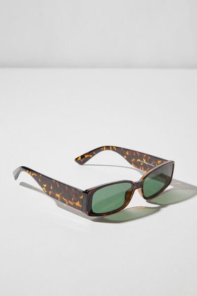 Alexander Sunglasses, TORT/SMK GREEN