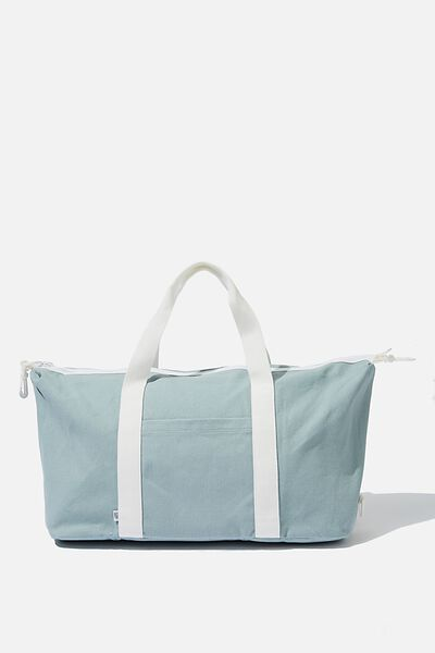 Transit Duffle Bag, TEAL CANVAS