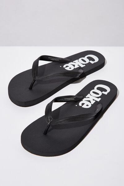 Bondi Flip Flop, LC BLACK/COKE