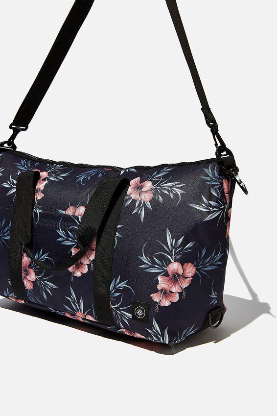 Transit Duffle Bag, HIBISCUS FLORAL